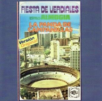 1980 Panda de Campanillas. Carátula de la casete.