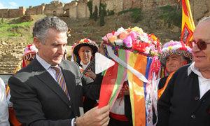 Paulino Plata, consejero de cultura de la Junta de Andalucia