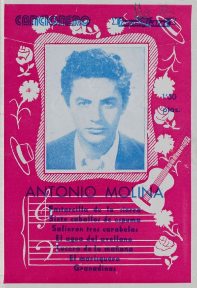 Cancionero Antonio Molina