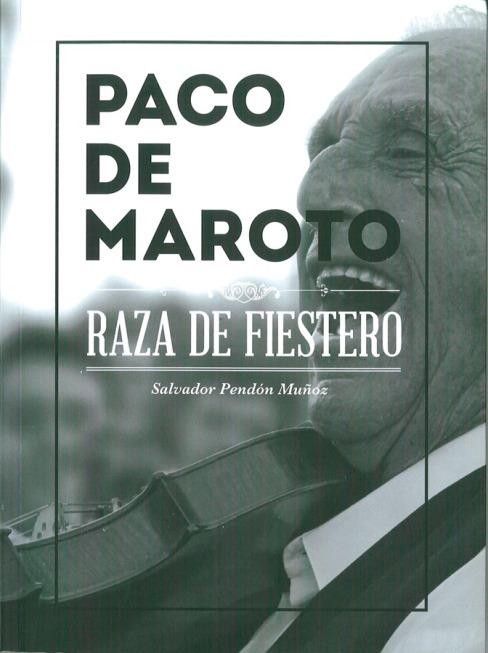 2014 Libro Paco de Maroto - Portada